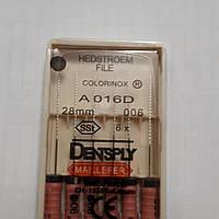 H-File 28мм, уп.6шт, №006, Dentsply Maillefer