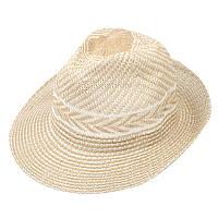 Шляпа женская пляжная желтая 150222