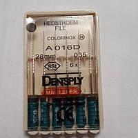 H-File 28мм, уп.6шт, №035, Dentsply Maillefer