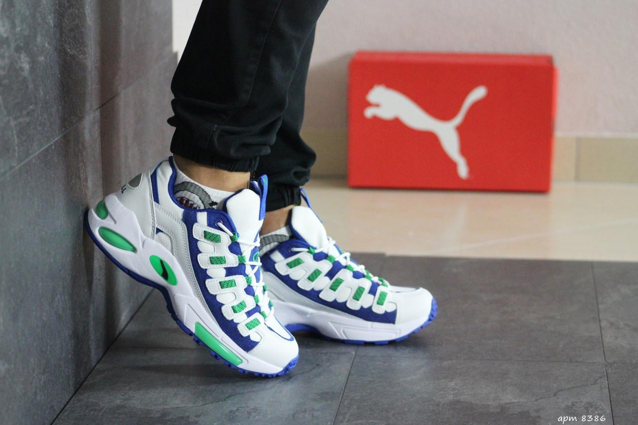Чоловічі кросівки Puma CELL Endura (біло-сині)