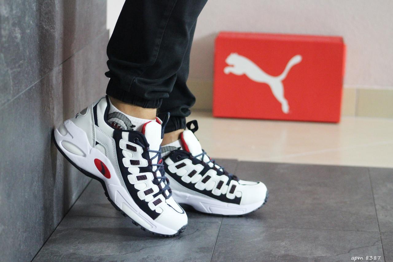 Чоловічі кросівки Puma CELL Endura (білий з темно-синім)