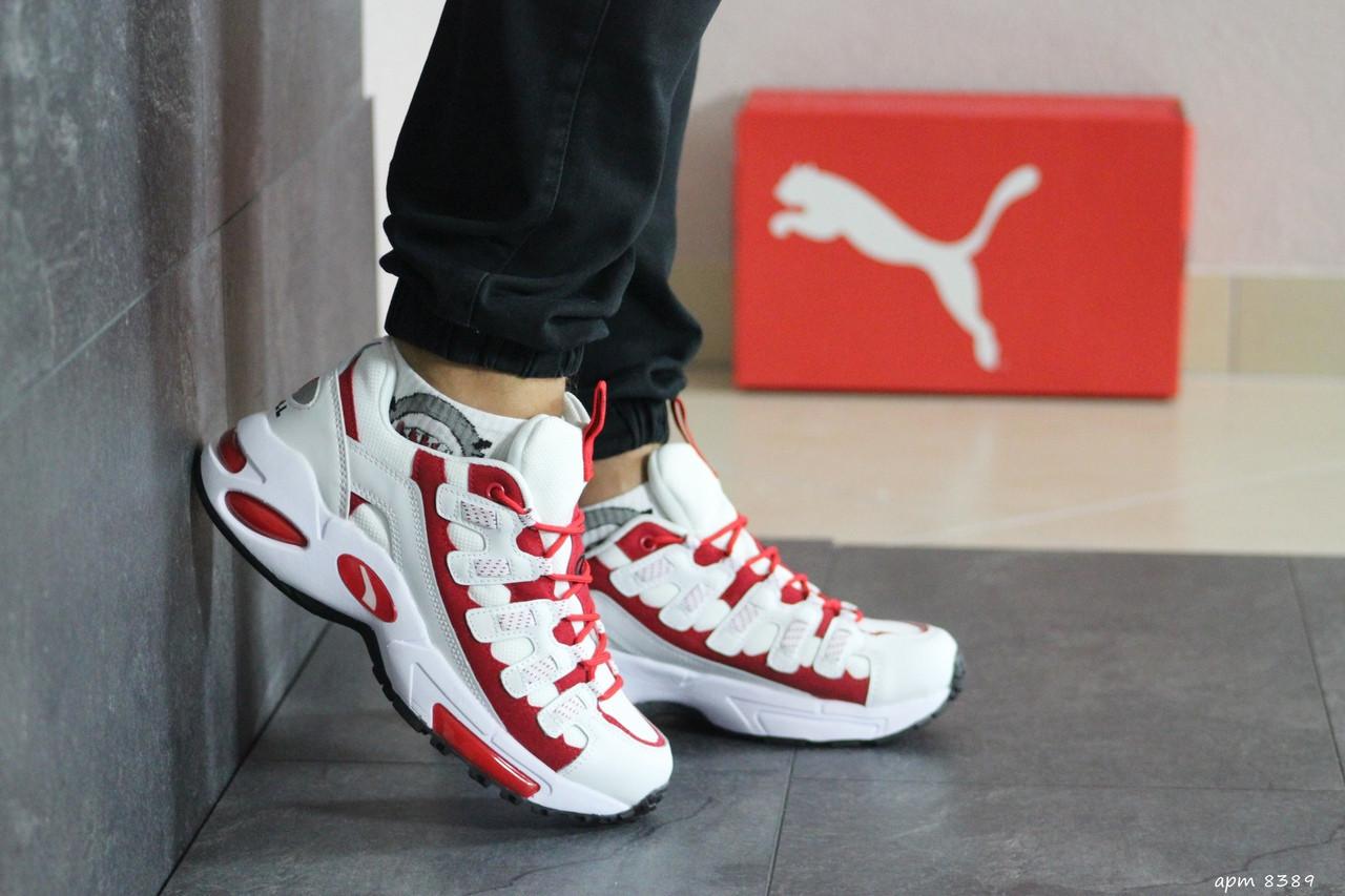 Мужские кроссовки Puma CELL Endura (бело-красные)