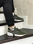 Мужские кроссовки New Balance 574 (темно-зеленый), фото 2