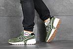 Чоловічі кросівки New Balance 574 (темно-зелений), фото 3