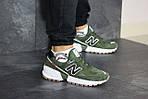 Чоловічі кросівки New Balance 574 (темно-зелений), фото 6