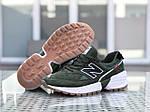 Чоловічі кросівки New Balance 574 (темно-зелений), фото 7