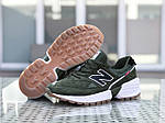 Мужские кроссовки New Balance 574 (темно-зеленый), фото 7