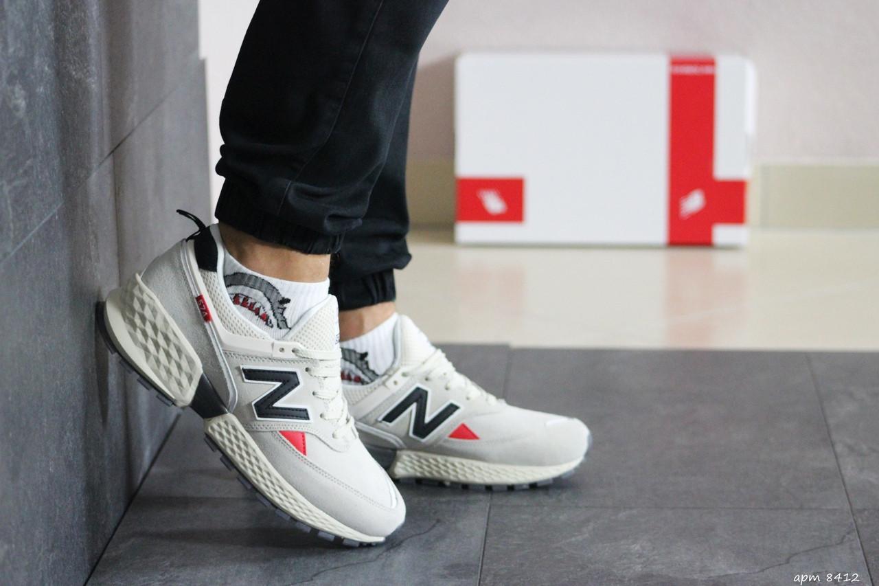 Мужские кроссовки New Balance 574 (бежевые)