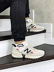 Чоловічі кросівки New Balance 574 (бежеві), фото 4