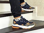 Мужские кроссовки Puma Cell Venom (сине-оранжевые), фото 4