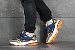 Мужские кроссовки Puma Cell Venom (сине-оранжевые), фото 5