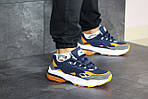Чоловічі кросівки Puma Cell Venom (синьо-помаранчеві), фото 6