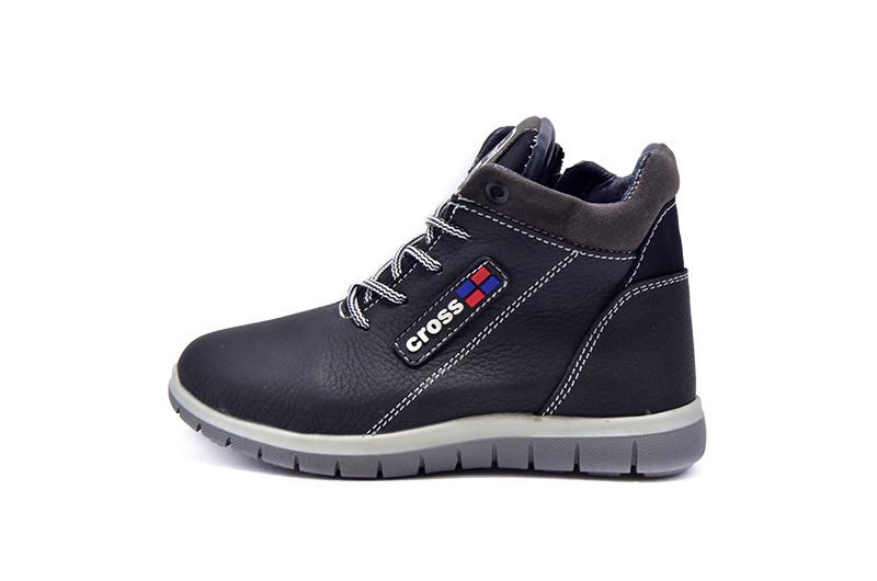 Ботинки зимние детские SAV 39 Q1 99938 Black Gray