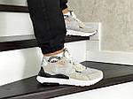 Чоловічі кросівки Adidas Nite Jogger Boost (бежеві), фото 5