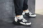 Чоловічі кросівки Adidas Nite Jogger Boost (бежево-чорні), фото 2