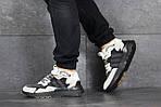 Чоловічі кросівки Adidas Nite Jogger Boost (бежево-чорні), фото 3