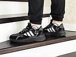 Мужские кроссовки Adidas Nite Jogger Boost (черные), фото 4