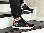 Мужские кроссовки Adidas Nite Jogger Boost (черно-белые), фото 4