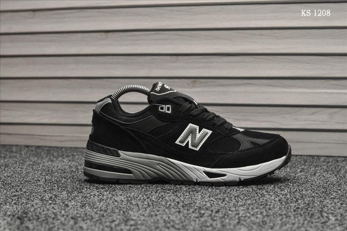 Чоловічі кросівки New Balance 991 (чорні)