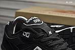 Чоловічі кросівки New Balance 991 (чорні), фото 6