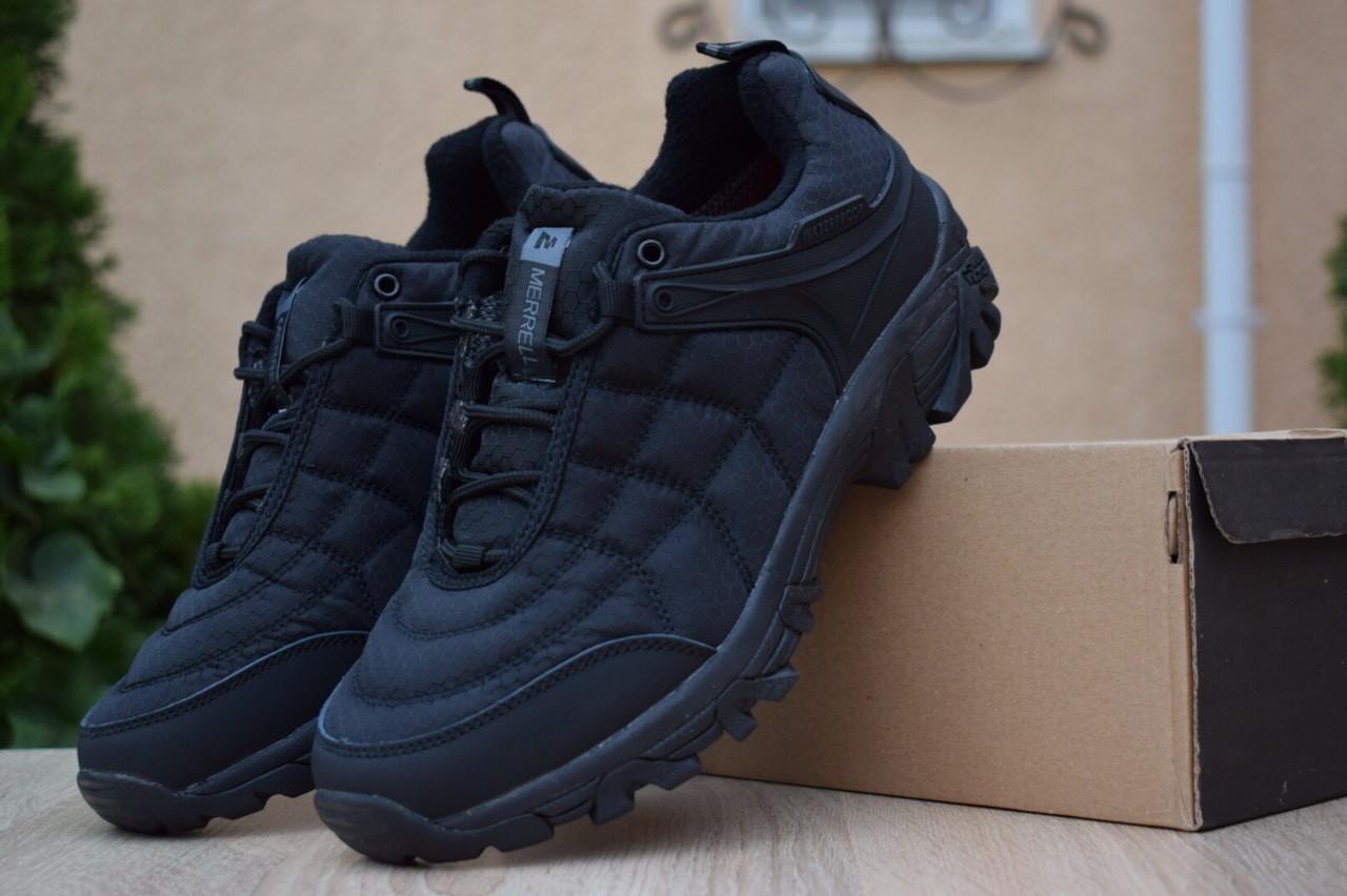Чоловічі зимові черевики Merrell Ice Cap Moc (SIN) (чорні) - термо (без хутра)