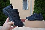 Чоловічі зимові черевики Merrell Ice Cap Moc (SIN) (чорні) - термо (без хутра), фото 7