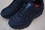 Чоловічі зимові черевики Merrell Ice Cap Moc (SIN) (чорні) - термо (без хутра), фото 9