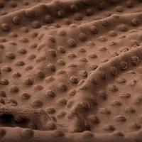 Плюш Minky светло-коричневый