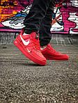 Мужские кроссовки Nike Air Force 1 LV8 (красно/белые), фото 2