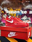 Мужские кроссовки Nike Air Force 1 LV8 (красно/белые), фото 4