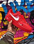 Мужские кроссовки Nike Air Force 1 LV8 (красно/белые), фото 5
