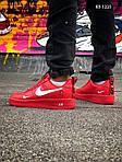 Мужские кроссовки Nike Air Force 1 LV8 (красно/белые), фото 7