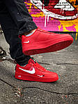 Мужские кроссовки Nike Air Force 1 LV8 (красно/белые), фото 8
