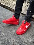 Мужские кроссовки Nike Air Force 1 LV8 (красно/белые), фото 9