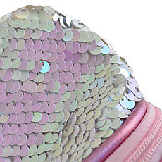 Пенал мягкий YES TP-24  ''Sneakers with sequins'' pink                                    , фото 3