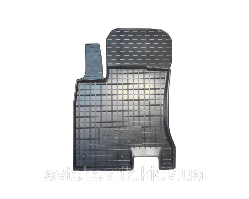 Полиуретановый водительский коврик в салон Nissan Qashqai (J11) 2014- (AVTO-GUMM)