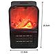 Компактний міні обігрівач-камін Flame Heater(хенді хитрий) 1000 ват, фото 8