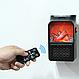 Компактний міні обігрівач-камін Flame Heater(хенді хитрий) 1000 ват, фото 9