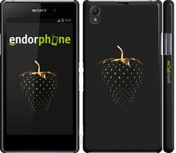 "Чехол на Sony Xperia Z1 C6902 Черная клубника ""3585c-38-851"""