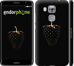 """Чехол на Huawei Nova Plus Черная клубника """"3585c-961-851"""""""