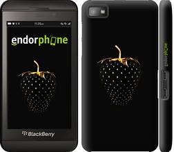 """Чехол на Blackberry Z10 Черная клубника """"3585c-392-851"""""""