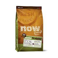 Беззерновой корм NOW Puppy Small Breed Recipe для щенков малых пород, с индейкой, уткой и лососем, 2.72 кг
