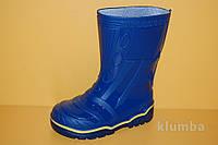 Детские Резиновые сапоги Litma Украина 27350 для мальчиков синий размеры 27_35, фото 1