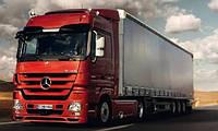 Лобовое стекло Mercedes Actros, триплекс