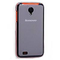Силиконовый чехол прозрачный для Lenovo S750 матовый