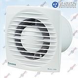 Вентилятор с таймером и шнурком Blauberg Bravo 100 ST, фото 2