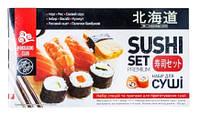 Hokkaido Club. Набор для суши специи и приправы 516г (4820172440154)