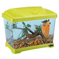 Пластиковый Аквариумный Комплект Ferplast Capri Junior Green, Зеленый, 21 Л