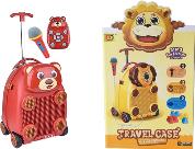 Чемодан Yestore Детский чемодан Медвежонок, с микрофоном и на пульте управления SKU_3712