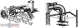 Вентилятор с таймером и шнурком Blauberg Bravo 125 ST, фото 5